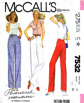 McCalls 1981 7532