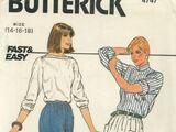 Butterick 4747 B