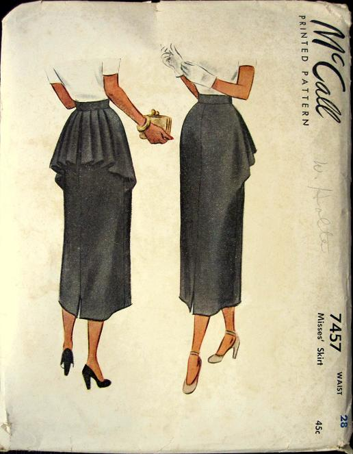 McCall 7457 | Vintage Sewing Patterns | FANDOM powered by Wikia