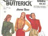 Butterick 6682 A