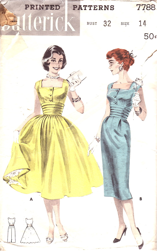 Butterick 7788 | Vintage Sewing Patterns