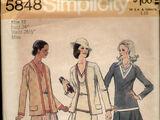 Simplicity 5848 A