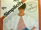 Simplicity 5837