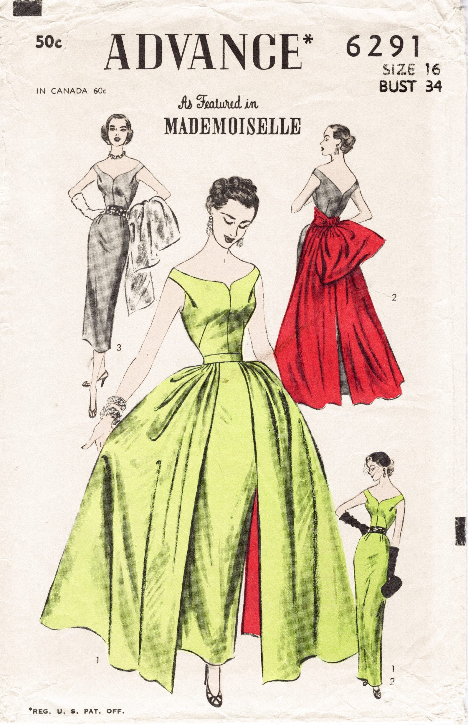 Advance 6291 Vintage Sewing Patterns Fandom Powered By