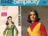 Simplicity 8442 A