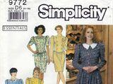 Simplicity 9772 A