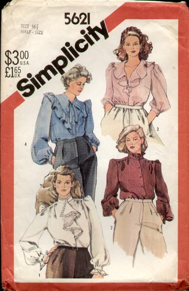 Simplicity 5621 82 a