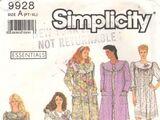 Simplicity 9928 B