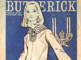 Butterick Fashion News December 1966