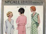 McCall 6653 A