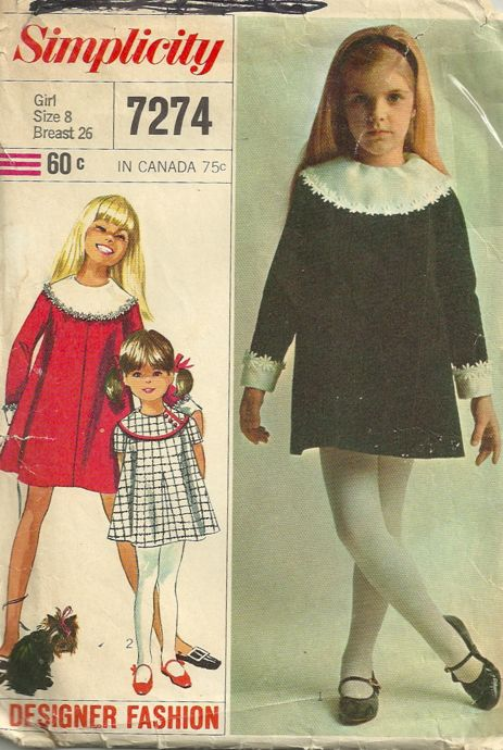 Simplicity 7274 Vintage Sewing Patterns Fandom Powered