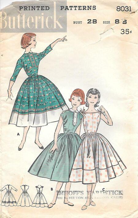 B8031Girls8,1957