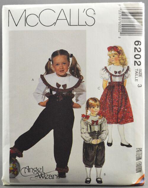McCall's 6202 Child Pants & Skirt 1