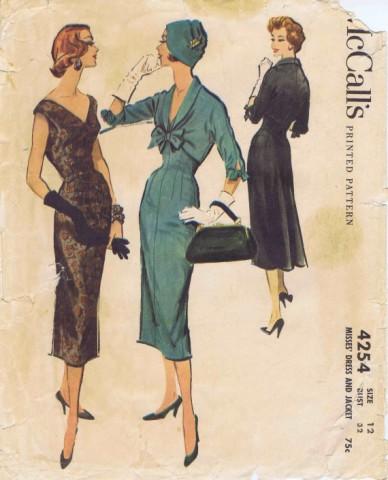McCalls 1957 4254
