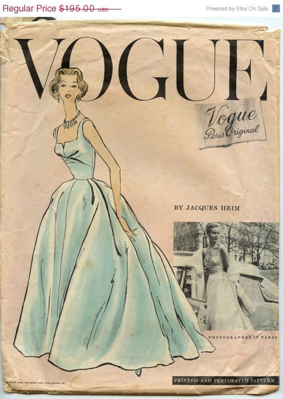 Vogue 1343 B   Vintage Sewing Patterns   FANDOM powered by Wikia