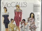 McCall's 5727 A