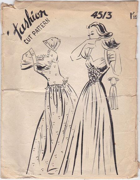 Pattern - Fashion Cut 4513 02
