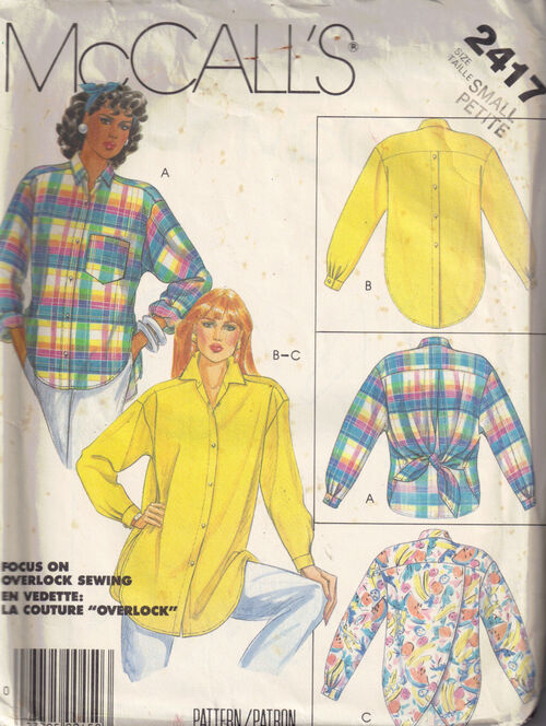 C1986 2417 mccalls shirt