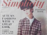 Simplicity Pattern Book Autumn/Winter 1965