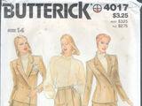 Butterick 4017