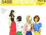 Simplicity 5456