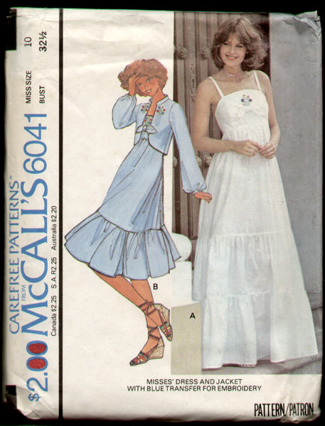 McCall\'s 6041   Vintage Sewing Patterns   FANDOM powered by Wikia