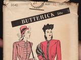 Butterick 3540 B