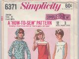 Simplicity 6371 B