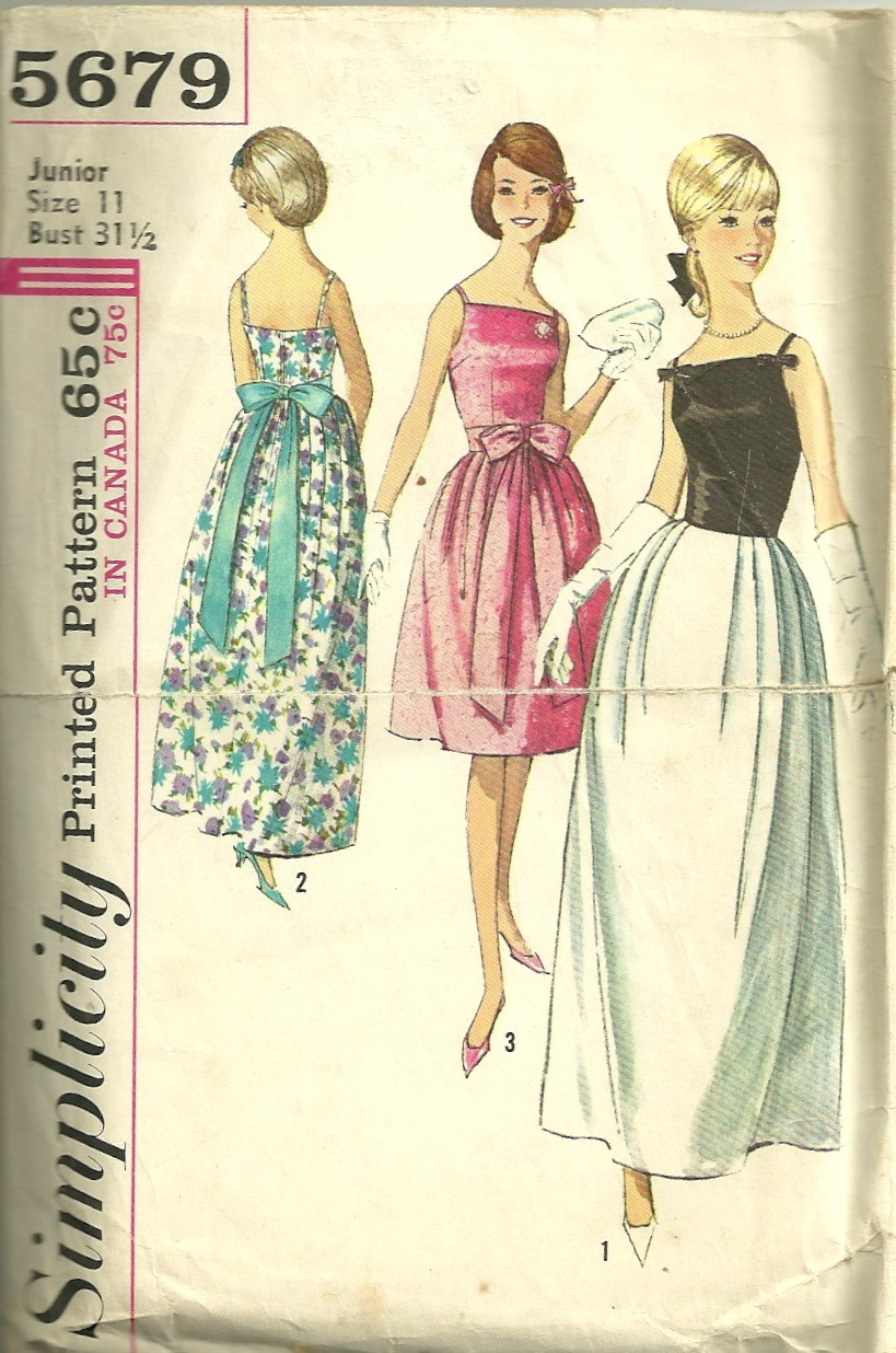 Simplicity 5679 | Vintage Sewing Patterns | FANDOM powered by Wikia