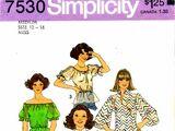 Simplicity 7530 A