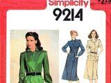 Simplicity 9214