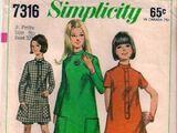Simplicity 7316 A