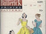 Butterick 6290 B
