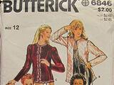 Butterick 6846 A