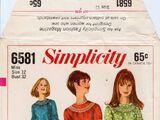 Simplicity 6581 B