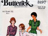 Butterick 3197 A
