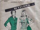 Butterick 3002 A