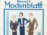 Beyers Modenblatt No. 22 Vol. 10 1932