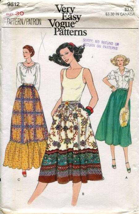 Vogue9812skirts
