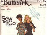 Butterick 6305