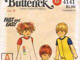 Butterick 4141 A