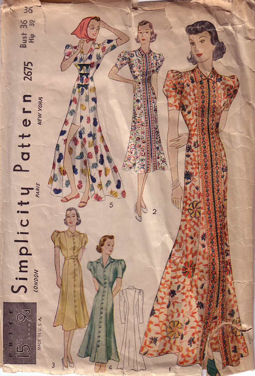 Simplicity 2675 | Vintage Sewing Patterns | FANDOM powered by Wikia