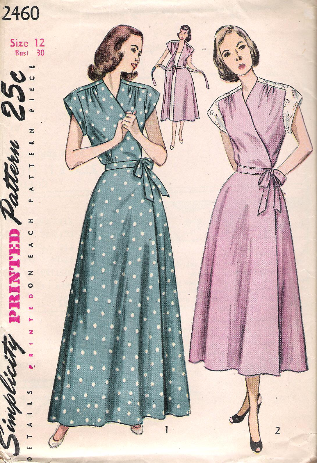 Simplicity 2460 Vintage Sewing Patterns Fandom Powered