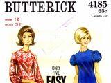Butterick 4185 A