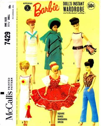 McCalls 1964 7429