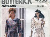Butterick 4356 A