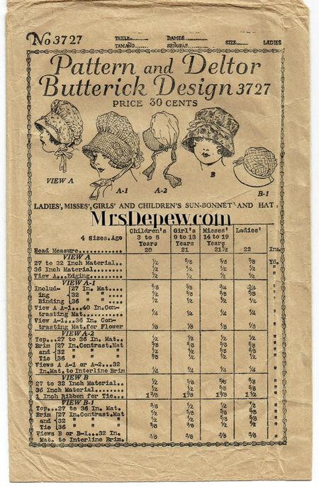 Butterick 3727 wm