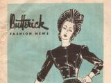 Butterick Fashion News March 1940
