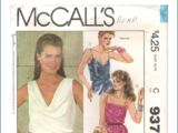 McCall's 9375 A