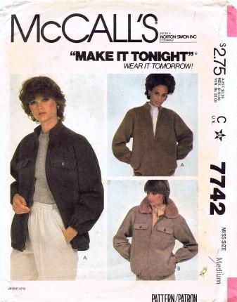 McCalls 1981 7742